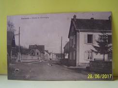 VALDOIE (TERRITOIRE DE BELFORT) ROUTE DE GIROMAGNY - Valdoie