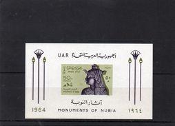 EGYPTE 1964 ** - Blocs-feuillets