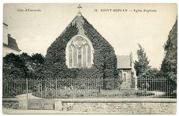 35 : SAINT SERVAN - EGLISE ANGLICANE - Saint Servan