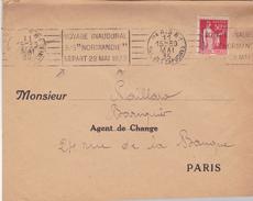 LETTRE PAQUEBOT NORMANDIE 1935 - Bateaux