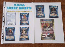 Saga Star Wars De 1999 - 10 Tickets De Loterie + 2 Tickets De Cinéma - Billetes De Lotería