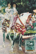Carte-Maximum ESPAGNE N° Yvert 1227 (SOROLLA) Obl Sp Ill 1er Jour 1964 - Tarjetas Máxima