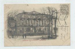 Caussade (Tarn-et-Garonne)  : La Mairie Env 1903 (animé)  PF. - Caussade