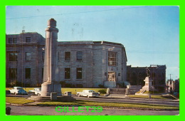 TROIS-RIVIÈRES, QUÉBEC - LE FLAMBEAU ÉRIGÉ EN 1934 - CIRCULÉE EN 1991 -  JALBERT DISTRIBUTION - - Trois-Rivières