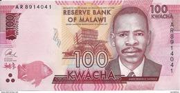 MALAWI 100 KWACHA 2014 UNC P 65 - Malawi