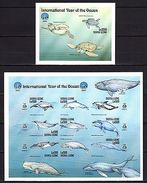 Sierra Leone 1999 Marine Life MNH P.1 IMPERF. (TWO SCANS!!) -(z-2) - Marine Life
