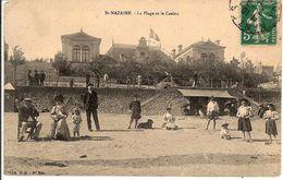 ST NAZAIRE. La Plage Et Le Casino - Saint Nazaire
