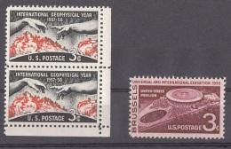USA 1957 - 3 Sondermarken ** - Vereinigte Staaten