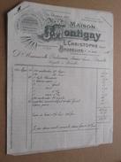 Maison J. MONTIGNY L. Christophe -  BRUXELLES ( Fact. Double + Lettre) > Baliseaux : Anno 1926 ! - Cars