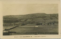 LANCS - NELSON - PENDLE FROM BRIERFIELD RP La1252 - Other