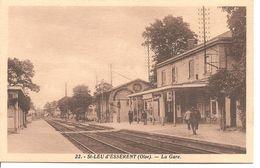 St - LEU D'ESSERANT - La Gare ( Rare ) - Francia
