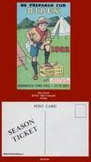 "P5090  (1982) ""BE PREPARED FOR BIPEX 1982...""  (Boy Scout Colour Art Postcard. Bipex Postcard No.4) - Scouting"