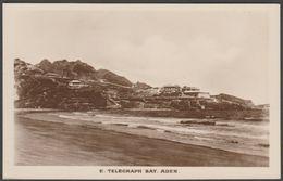 East Telegraph Bay, Aden, C.1920 - Pallonjee Dinshaw & Co RP Postcard - Yemen
