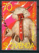 BM Slowenien 1996 - MiNr 130 - Used - Faschingskostüme, Korant In Dravsko Polje (Draufeld) - Slowenien