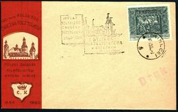 Poland 1960 Cancellation - 100 Years Of Polish Stamp 1860-1960, Philatelic Exhibition - PZF Kielce - Kielce 1 - 1944-.... République