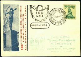 Poland 1960 Cancellation - 100 Years Of Polish Stamp, International Letter Writing Week - PZF Bydgoszcz - Bydgoszcz 1 - 1944-.... Republic