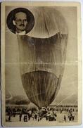 LE BALLON DU PROFESSEUR PICCARD AU COURS DE SON GONFLEMENT - Aeronaves
