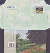 SINGAPORE:19..: Aerogr.:FLORA,JARDIN,GARDEN,ETANG,FLEUR,FLOWER,ARBRE,TREE,JARDIN BOTANIQUE,BOTANIC GARDEN,HORTICULTURE, - Végétaux