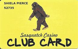 Sasquatch Casino Black Hawk, CO - Slot Card - Casino Cards