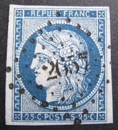 LOT R1510/3 - SUPERBE CERES N°4 - PC 2657 REVEL (Haute Garonne) INDICE 4 - Cote : 60,00 € - 1849-1850 Cérès
