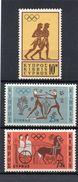 Zypern, 1964, Olymp. Spiele Tokyo, Michel 237/39, Postfrisch/**/MNH - Neufs