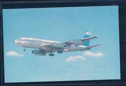 Aviation, Boeing, ELAL Israël Airlines (220) Petit Pli D'angle - 1946-....: Moderne