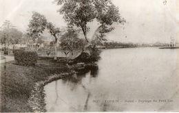 TONKIN - Hanoï - Paysage Du Petit Lac - Viêt-Nam