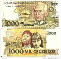 Brésil - Brazil 1000 CRUZEIROS 1988 - Pick 231b TTB (VF) - Brésil