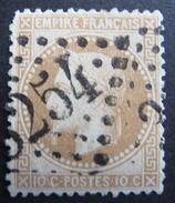 LOT R1510/23 - NAPOLEON III Lauré N°28A - GC 3254 SABLE-SUR-SARTHE (Sarthe) INDICE 3 - Cote : 20,00 € - 1863-1870 Napoleon III With Laurels