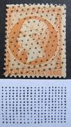 LOT R1510/36 - NAPOLEON III N°23 - POINTILLES FINS - Cote : 25,00 € - 1862 Napoléon III