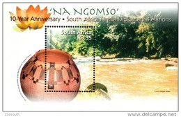 South Africa - 2003 10th Anniversary Of Diplomatic Relations With India MS (**) # SG 1445 , Mi Block 99 - Nuovi