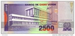 CAPE VERDE P. 61a 2500 E 1999 UNC - Cape Verde