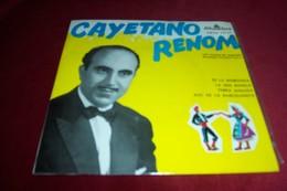 CAYETANO RENOM ° ES LA MORENETA / LA MES BONICA / TERRA AIMADA / SOC DE LA BARCELONETA - Vinyl Records