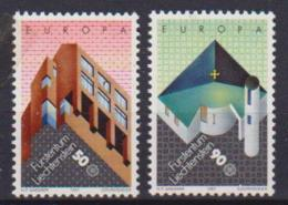 LIECHTESTEIN 1987 EUROPA UNIF. 857-858 MNH XF - Liechtenstein