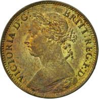 Grande-Bretagne, Victoria, Farthing, 1885, SUP+, Bronze, KM:753 - B. 1 Farthing