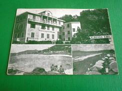 Cartolina Cavi Di Lavagna - Albergo Cavi - Vedute Diverse 1960 Ca - Genova