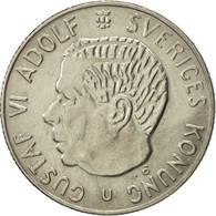 Suède, Gustaf VI, Krona, 1972, SUP, Copper-Nickel Clad Copper, KM:826a - Suède