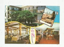 Cp,  Hôtels & Restaurants , ESPAGNE , Playa De ARO , Costa Brava , Multi Vues , HOTEL ELS PINS , Restaurant , Voyagée - Hotels & Restaurants