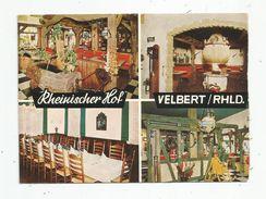 Cp,  Hôtels & Restaurants , Allemagne, VELBERT , Multi Vues , Restaurant , écrite - Hotels & Gaststätten