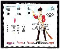 Grenada, 1972, SG 475 - 477, Set Of 3, MNH - Grenada (...-1974)