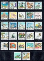 1988  Living Together Complete Set Of 27  Values MNH - 1980-89 Elizabeth II