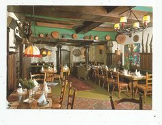 Cp,  Hôtels & Restaurants , Allemagne, Berchtesgaden , Hubertusstuben , HOTEL VIERJAHRESZEITEN , Vierge , Restaurant - Hotels & Restaurants