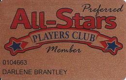 Baldini´s Sports Casino Sparks NV - Bronze Preferred Member Slot Card - Casino Cards
