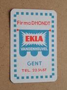 Firma DHONDT  EKLA Vandenheuvel GENT Tel 22.34.87 ( JOKER ) - ( Details - Zie Foto´s Voor En Achter ) !! - Barajas De Naipe