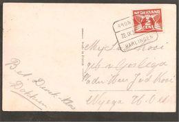 Blokstempel. Groningen-Harlingen I. SP 5 - Storia Postale