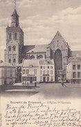 Souvenir De Tirlemont - L'Eglise St Germain (1905) - Tienen