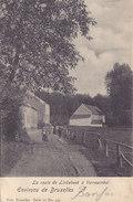Linkebeek (la Route De) à Verrewinkel (animée, 1903) - Linkebeek