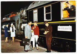 TRAIN AUTO COUCHETTES - Chemins De Fer Français - Ed. SNCF 1969 N° 64 - Treni