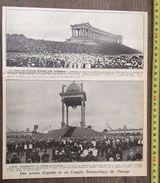 ENV 1924 CONGRES EUCHARISTIQUE DE CHICAGO - Vieux Papiers