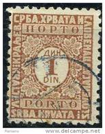 PIA - YUG - 1923-31 - T. Txe - Segnatasse - Post Pay -  (Un T.T. 70) - Portomarken